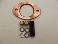 TS 1/RB  EXHAUST GASKET STUDS WASHERS AND BRASS NUT KIT.